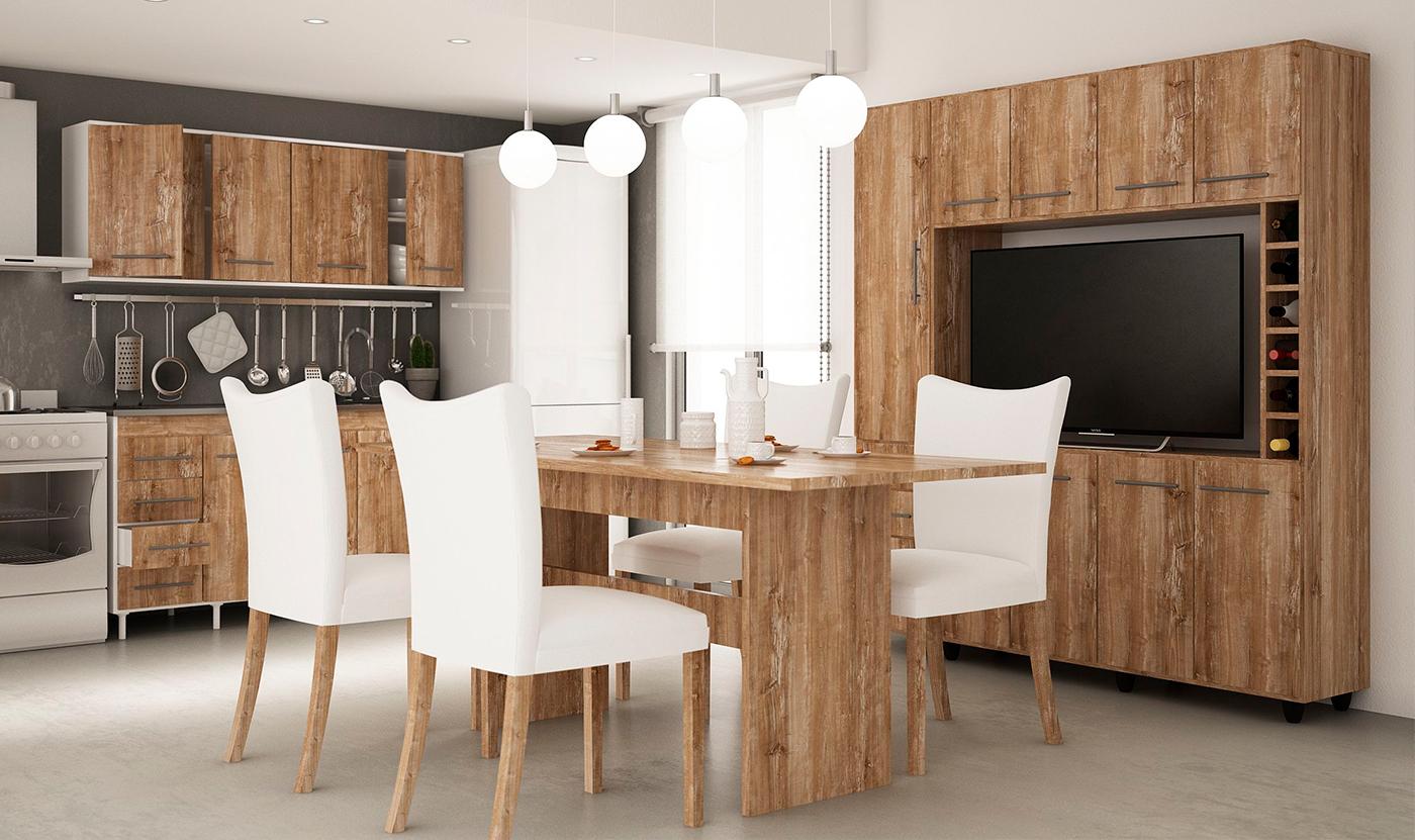 Muebles orlandi for Planos de cocina en linea